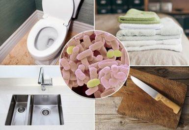 5 мест в вашем доме, которые кишат бактериями